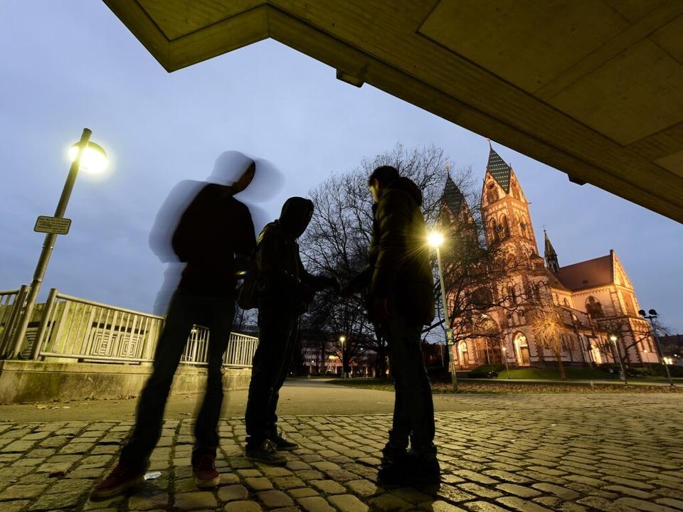 Drogenverkauf auf dem Stühlinger Kirchplatz  | Foto: Thomas Kunz