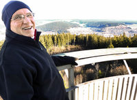 MACHT AUF DIE TÜR: 123 stählerne Stufen zum vollen Panorama