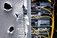 Polizei hebt riesiges illegales Computernetzwerk aus