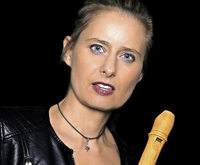 Basler Barockensemble und Blockflötistin Muriel Rochat Rienth in der evangelischen Kirche Grenzach