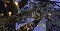 Adventsmarkt im Feierling-Biergarten
