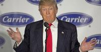Trump inszeniert sich als Retter von Jobs