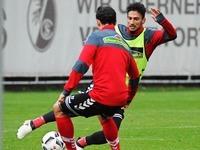 Der SC Freiburg spielt heute bei Bayer Leverkusen