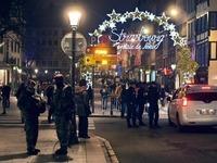 Straßburger Weihnachtsmarkt wird zur Sperrzone