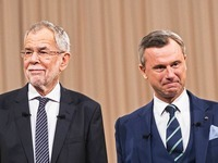 In Österreich wird ein neuer Bundespräsident gewählt