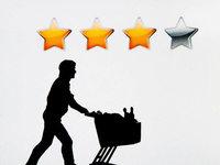 Immer mehr Menschen bewerten Produkte online