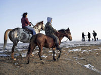 Tausende demonstrieren gegen eine Pipeline in Standing Rock