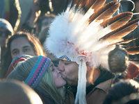 Fotos: Freude bei den Sioux: US-Behörden stoppen Bau der Öl-Pipeline