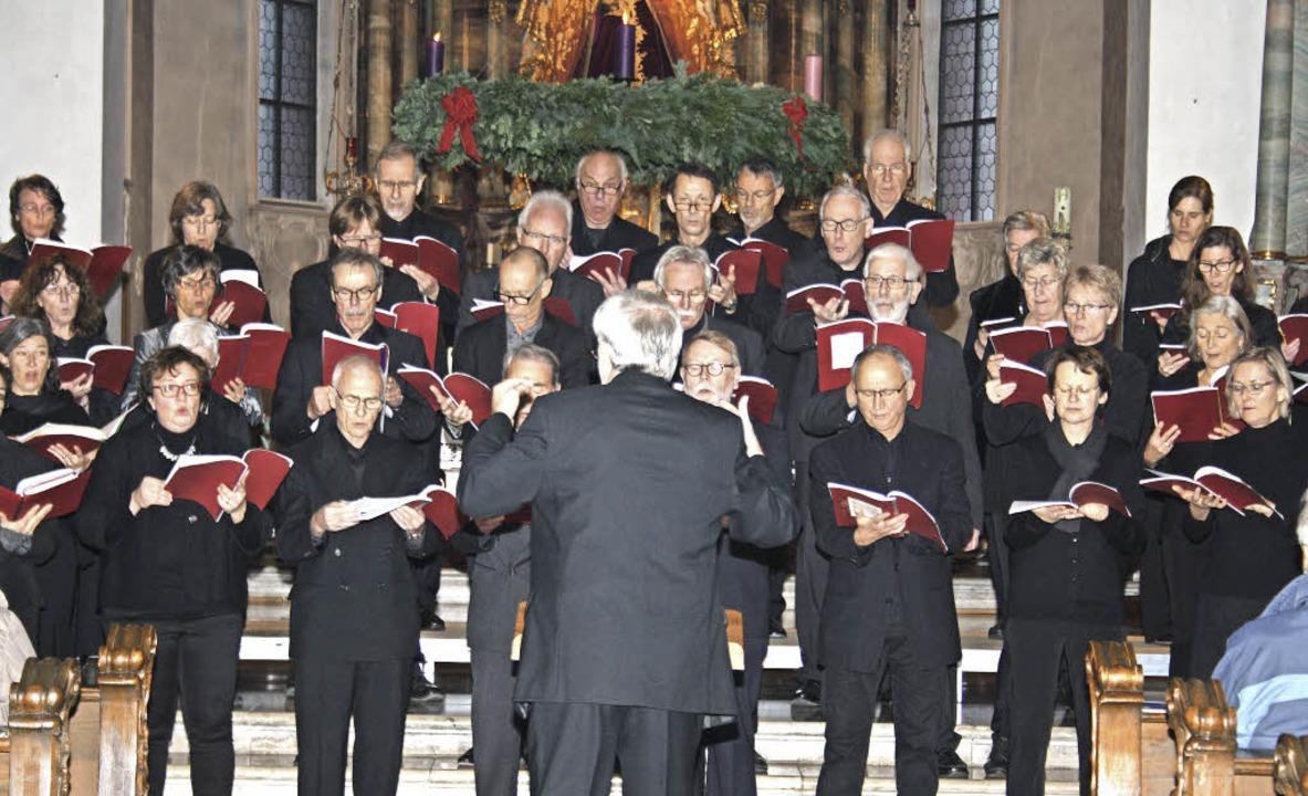 Englische Weihnachtsmusik bot der Mote...g in der Todtmooser Wallfahrtskirche.   | Foto: Andreas Böhm