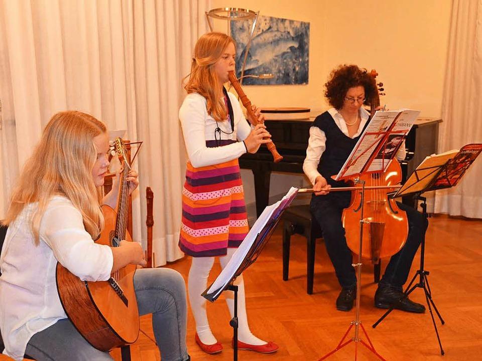 Auch Musik gab es im Dietschy-Saal.  | Foto: Peter Gerigk