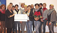 Solidarität: Katholische Frauen spenden 1000 Euro