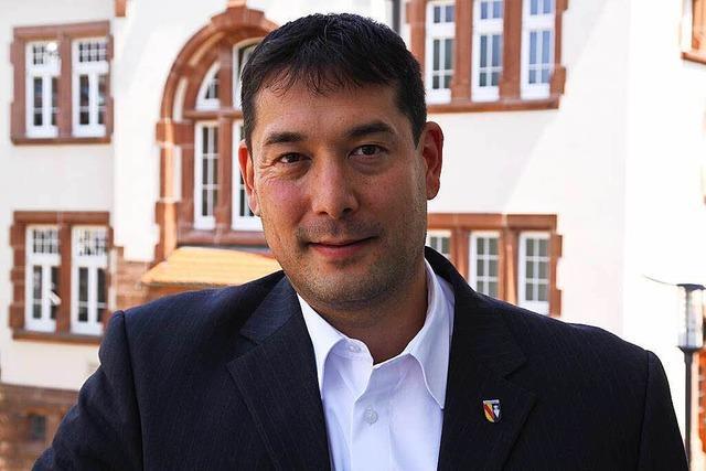 Denzlingens Bürgermeister Hollemann will wiedergewählt werden