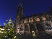 Stadt ersetzt schwache Lichtanlage am Münster