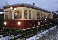 Kandertalbahn: Historische Dampfzugfahrt