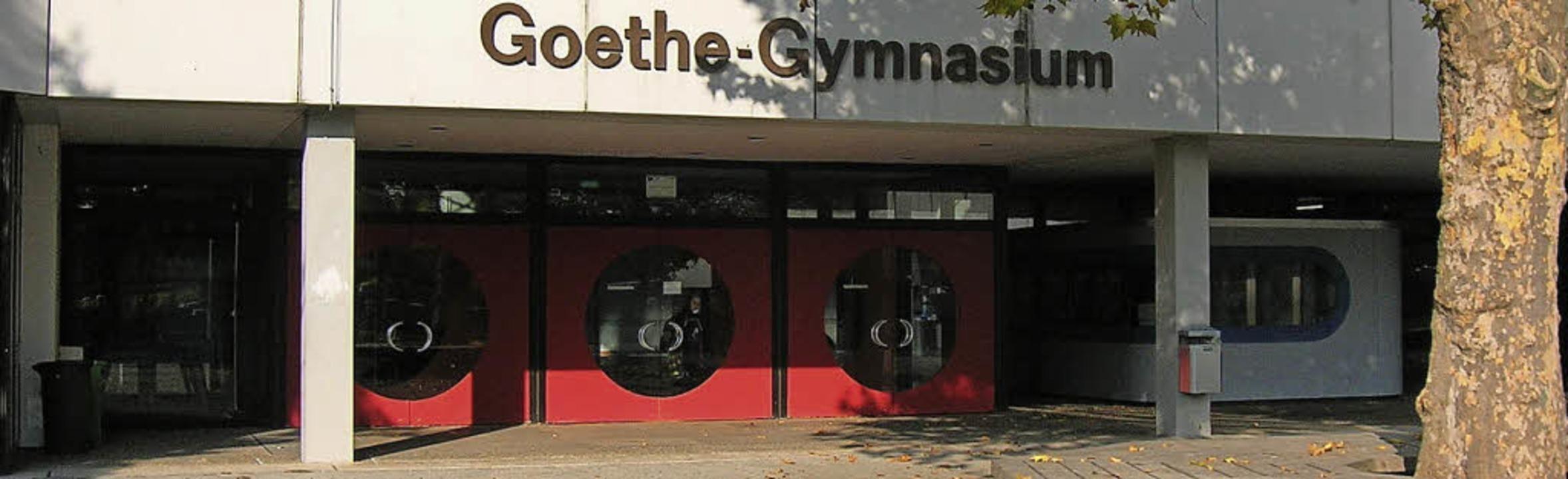 Das Goethe-Gymnasium feiert im kommenden Jahr sein 350-jähriges Bestehen.   | Foto: Sylvia-Karina Jahn
