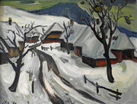Winterbilder von Helmut Müller-Wiehl in Bernau
