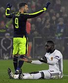 """FC Basel im Spiel gegen den FC Arsenal """"unterlegen in allen Belangen"""""""