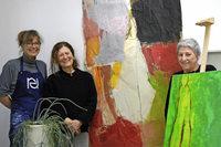Fünf Künstler, eine Location