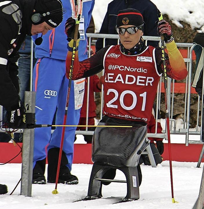 Der Gundelfinger Martin Fleig will sic... im Bayerischen Wald in Form bringen.   | Foto: privat