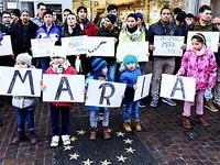 300 Menschen demonstrieren in Freiburg gegen Gewalt