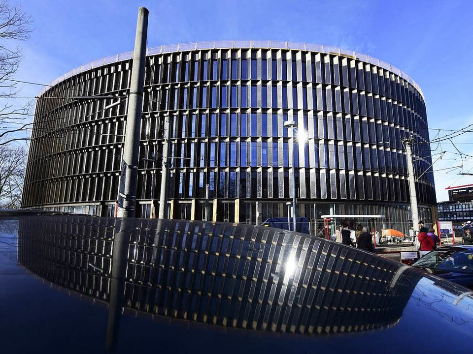 Im kommenden Mai soll der erste Baukör...athauses im Stühlinger bezogen werden.  | Foto: T. Kunz