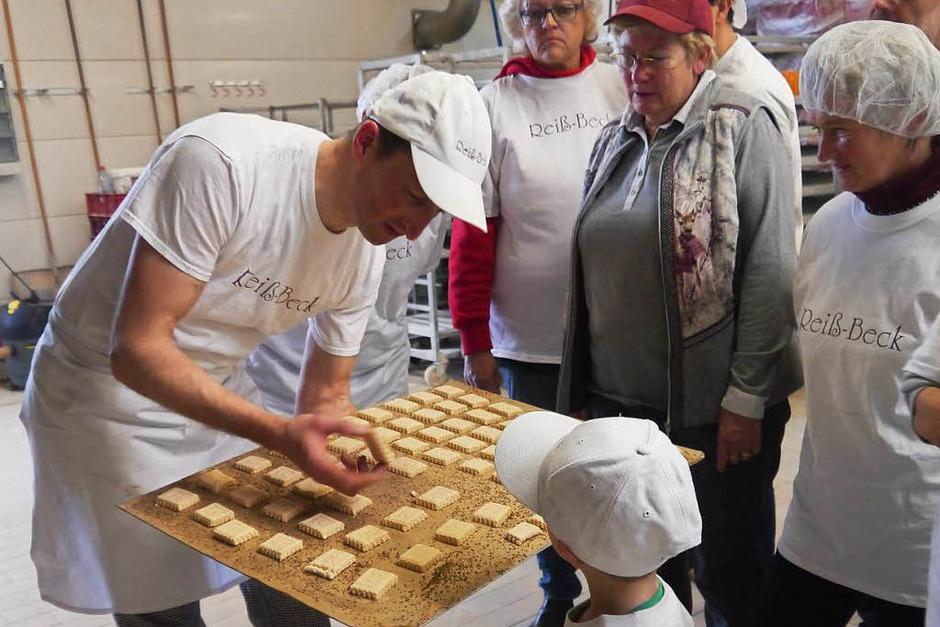 BZ-Hautnah in der Weihnachtsbäckerei von Reiß-Beck in Kirchzarten (Foto: Patricia Trostel)