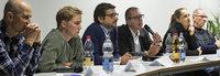 Podiumsdiskussion bei Freiburger Turnerschaft über die Dominanz des Fußballs
