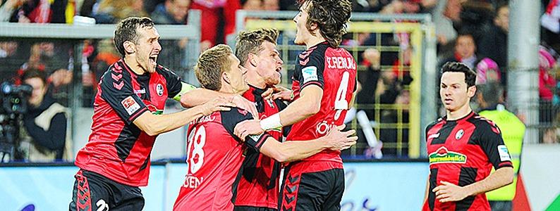 Elfmeterglück: SC Freiburg gewinnt in der Schlussphase mit 1:0 gegen Darmstadt
