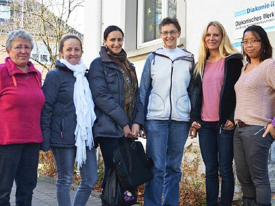 Mitarbeiterinnen der Diakonie   | Foto: F. Schoch