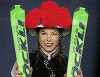 Skicrosserin Daniela Maier vom SC Urach über Kurvenraserei