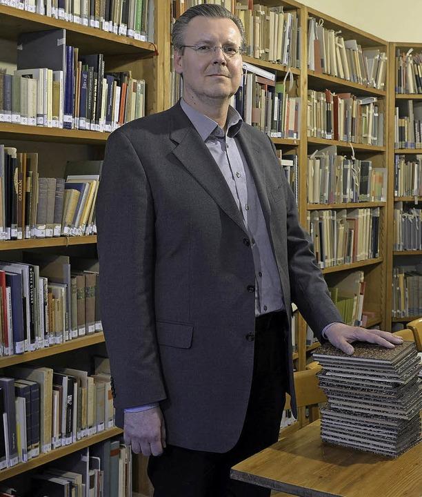 Leiter des Stadtarchivs: Andreas Jobst     Foto: Ingo Schneider