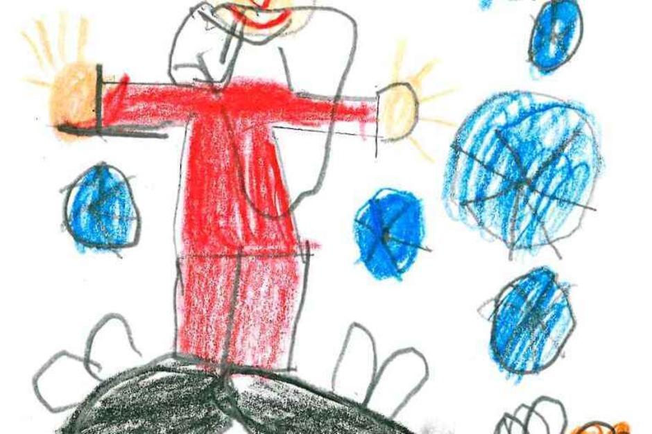 Die fünf schönsten Karten: Diese malte Nathalie VImich, 11 Jahre, aus Titisee-Neustadt. (Foto: Privat)