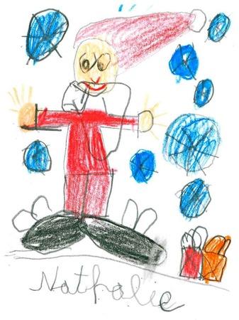 Die fünf schönsten Karten: Diese malte Nathalie VImich, 11 Jahre, aus Titisee-Neustadt.