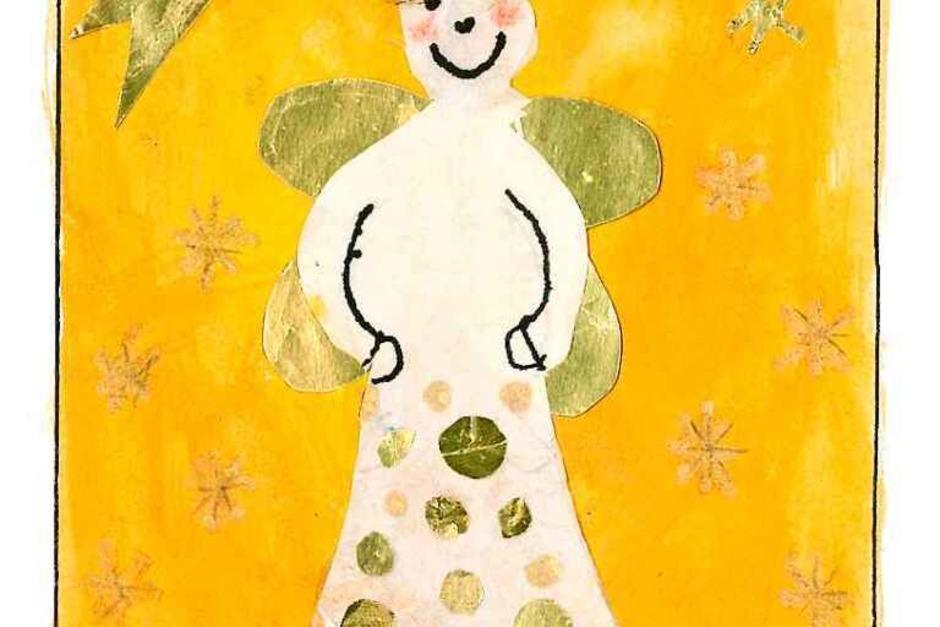 Die fünf schönsten Karten: Diese gestaltete Maria Kattinger, 10 Jahre, aus Lahr. (Foto: PRivat)