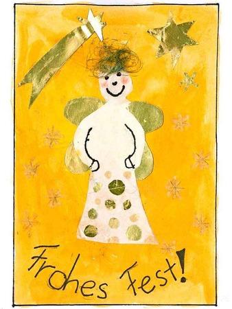 Die fünf schönsten Karten: Diese gestaltete Maria Kattinger, 10 Jahre, aus Lahr.