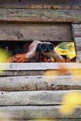 In den Jagdrevieren um Schliengen und Kandern verursachen Täter hohe Schäden an Hochsitzen