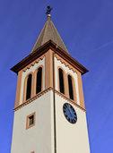 Stadt feiert ihren sanierten Kirchturm