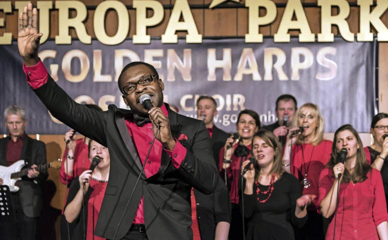 Zum 15. Mal gastierten die Gospel Harp...efizkonzert in einem Europa-Park-Hotel  | Foto: Bernhard Rein
