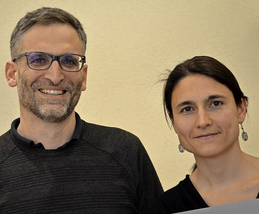 Markus Pohle und Hannah Moossen    | Foto: Wehrle