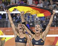 Laura Ludwig und Kira Walkenhorst wollen den WM-Titel