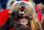 Fotos: Bärentanz zum neuen Jahr in Rumänien