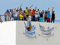 Mindestens 60 Tote bei Revolte in Haftanstalt