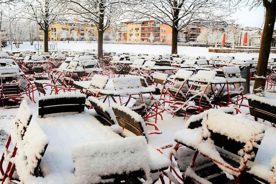 Entspannte Spaziergänge und lustige Rutschpartien im Schnee sind endlich möglich. (Foto: Kathrin Blum)