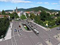 Technisch heikel: Im März beginnt der Neubau der Kronenbrücke in Freiburg