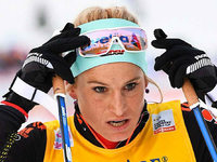 Nicole Fessel auf Platz sechs