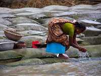 Drittgrößter Fluss der Welt soll mit Sandsäcken gezähmt werden