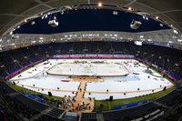 Fotos vom Eishockey-Winter-Game im Stadion der TSG Hoffenheim
