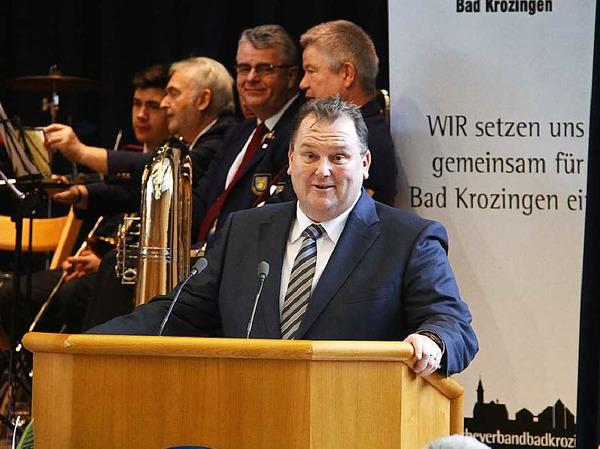 Der Gastgeber: Peter Lob, Vorsitzender des Gewerbeverbands Bad Krozingen