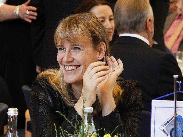 Die SPD-Kreisvorsitzende Birte Könnecke