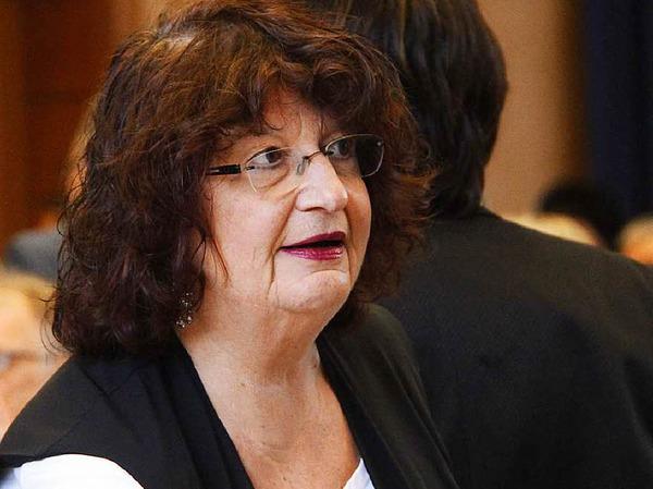 Grünen-Landtagsabgeordnete und Staatssekretärin Bärbl Mielich